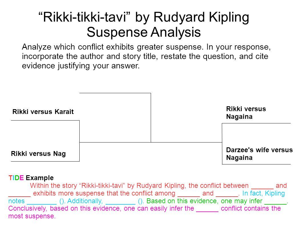 Rikki-tikki-tavi by Rudyard Kipling Suspense Analysis