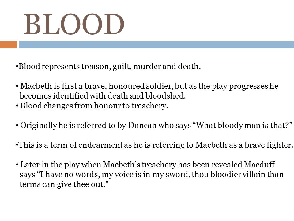 macbeth blood connotation change An act full of misery and hopelessness, beginning with lady macbeth's most famous scene - out damned spot with critical notes and analysis.