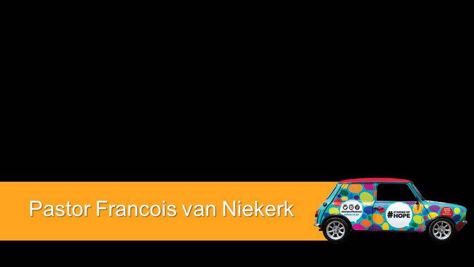 Pastor Francois van Niekerk