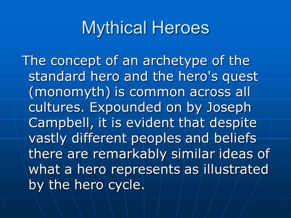 Mythical Heroes