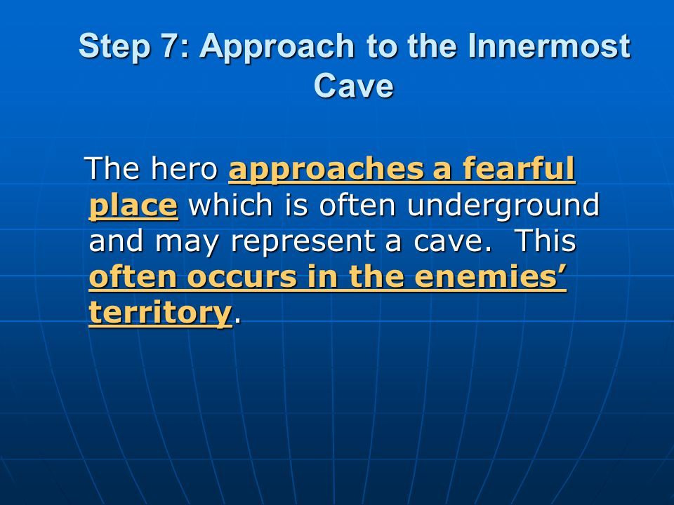 Step 7: Approach to the Innermost Cave