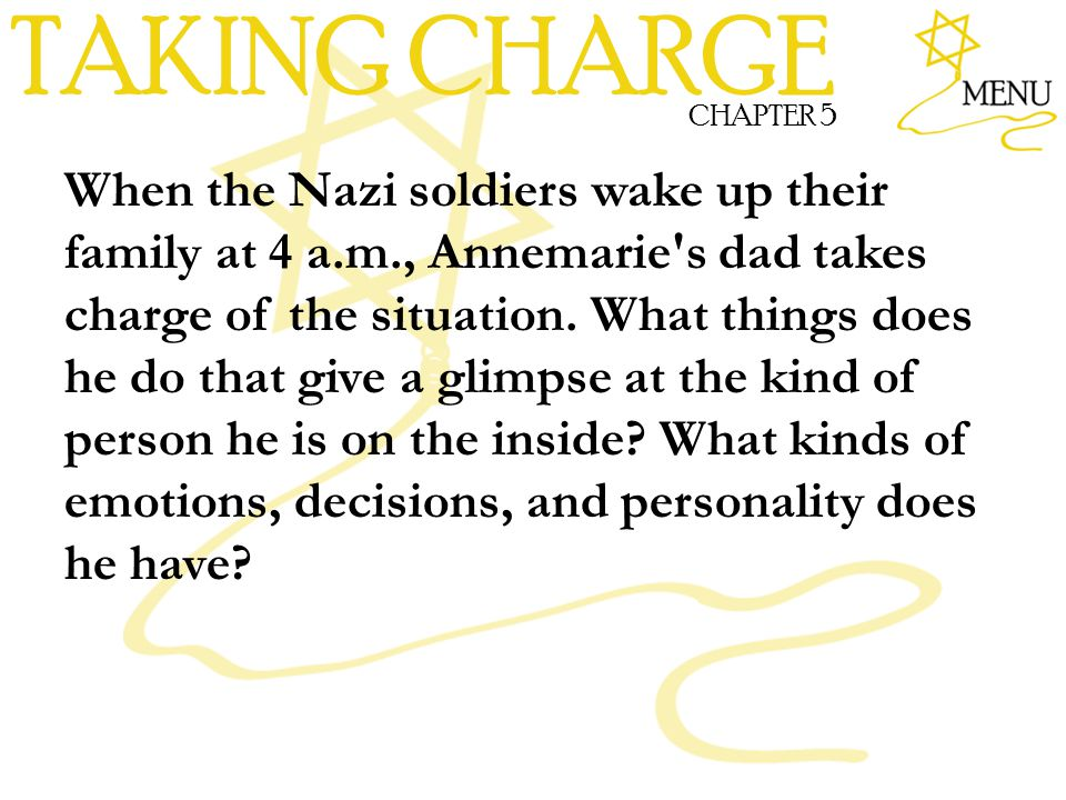 TAKING CHARGE CHAPTER 5.
