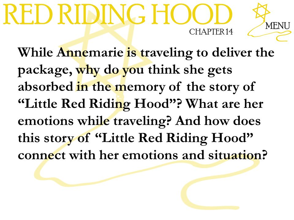RED RIDING HOOD CHAPTER 14.