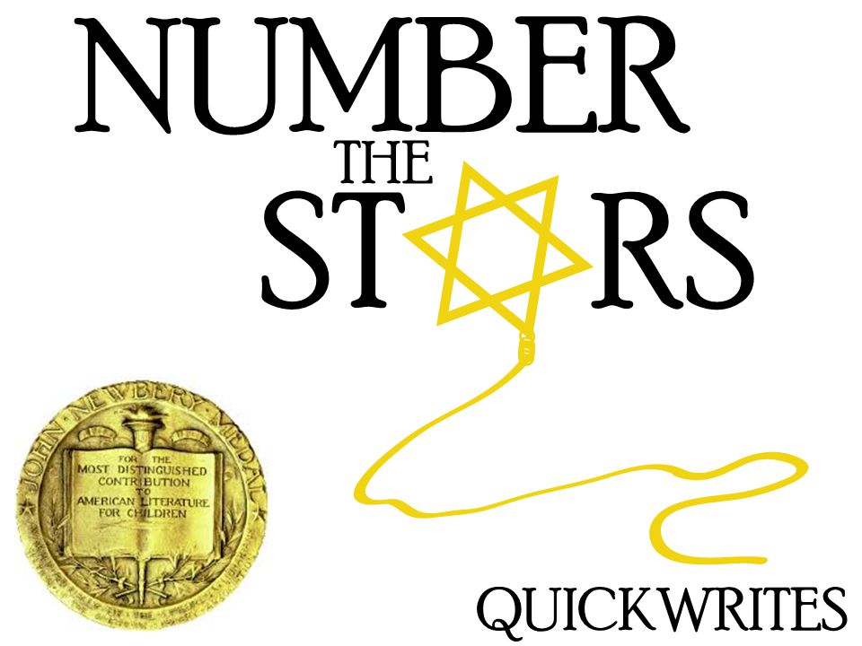 NUMBER THE ST RS QUICKWRITES