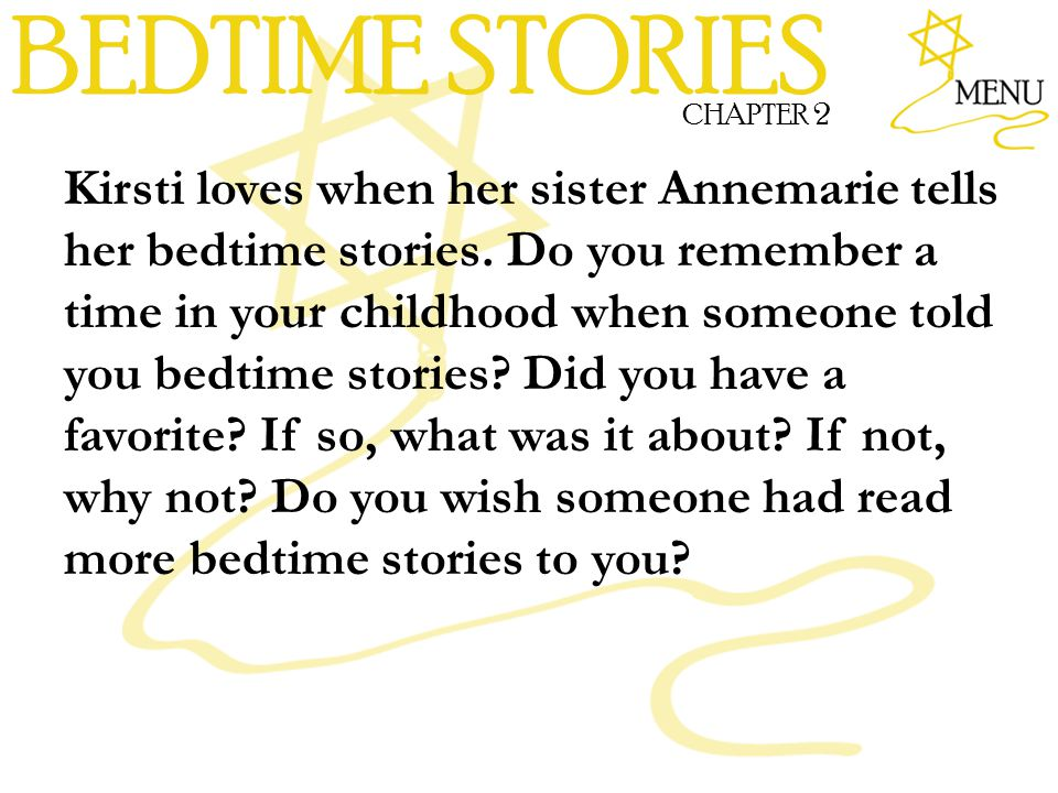 BEDTIME STORIES CHAPTER 2.