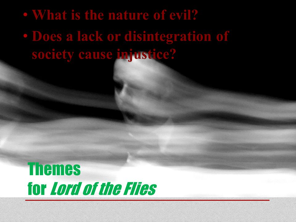 Themes for Lord of the Flies