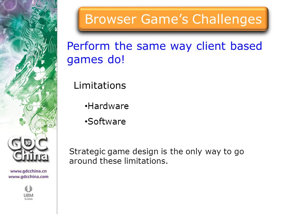 Browser Game's Challenges