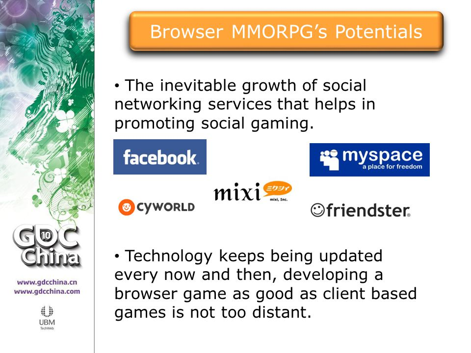 Browser MMORPG's Potentials