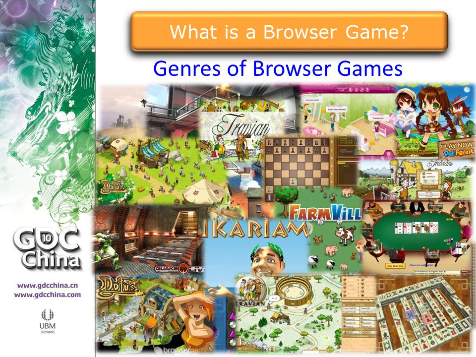 Genres of Browser Games