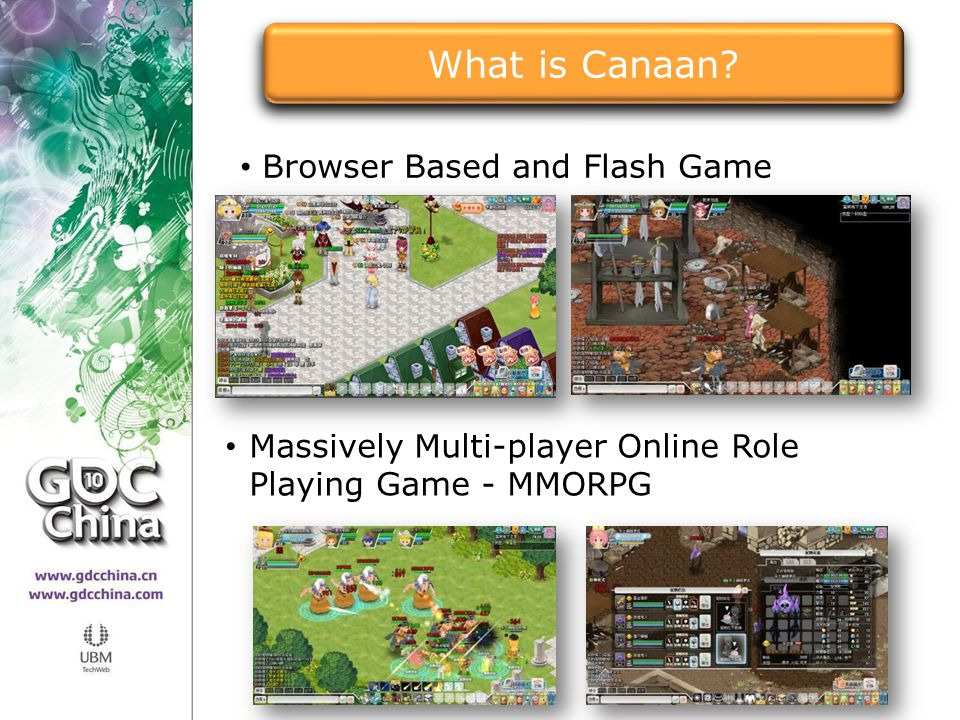 What is Canaan Browser Based and Flash Game