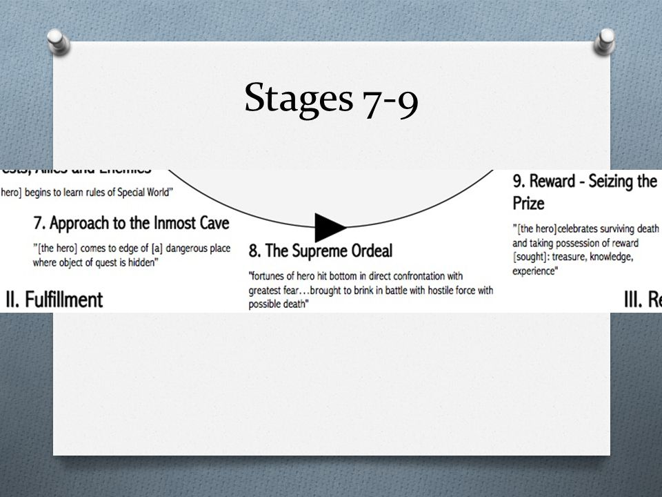 Stages 7-9