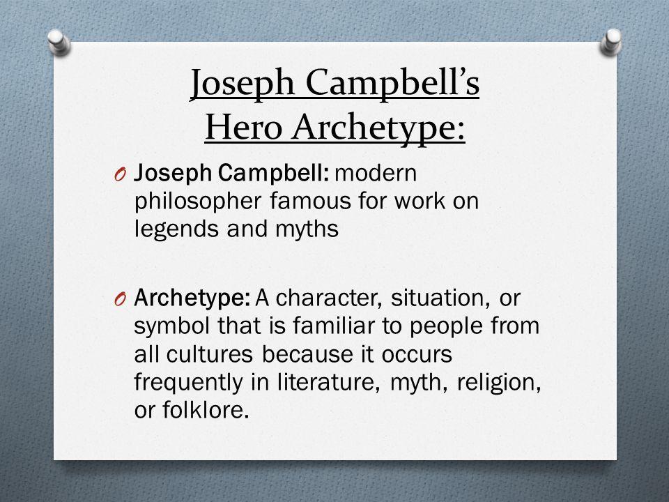 Joseph Campbell's Hero Archetype: