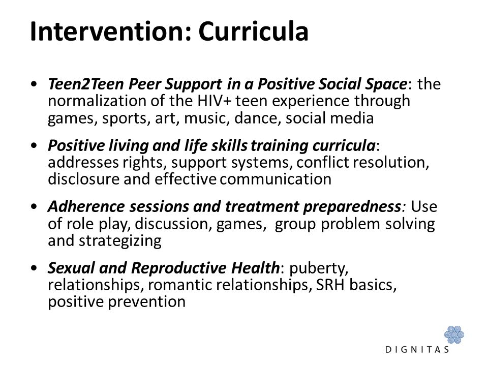 Intervention: Curricula