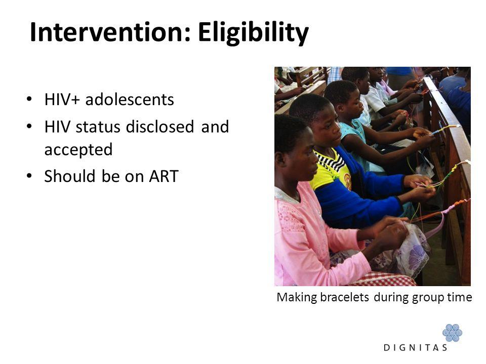 Intervention: Eligibility