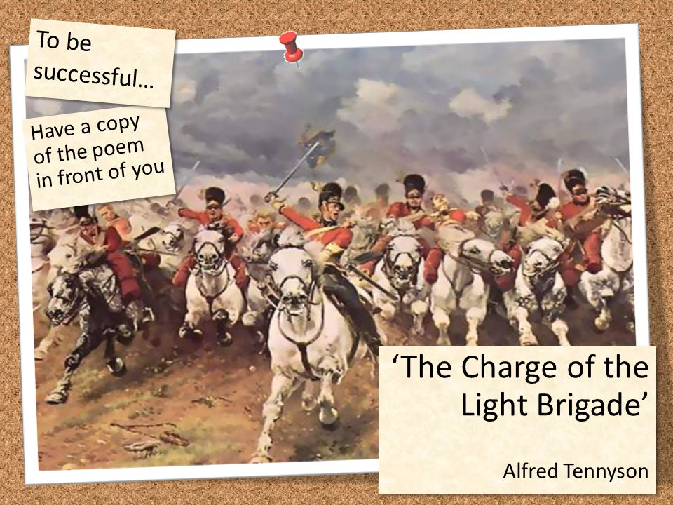 'The Charge of the Light Brigade'