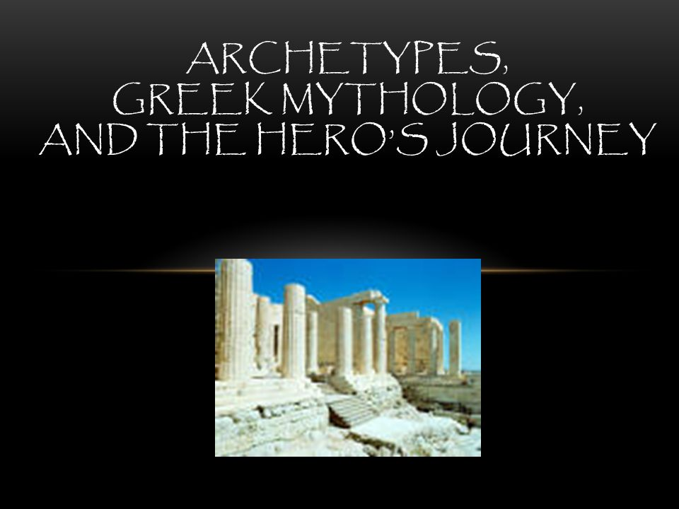 examples of archetypes in greek mythology