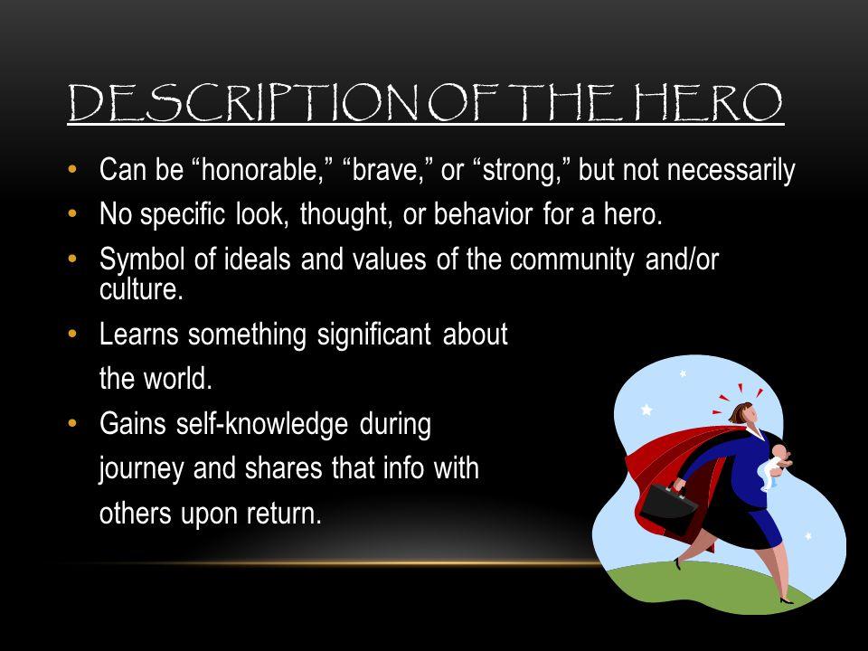 Description of the Hero