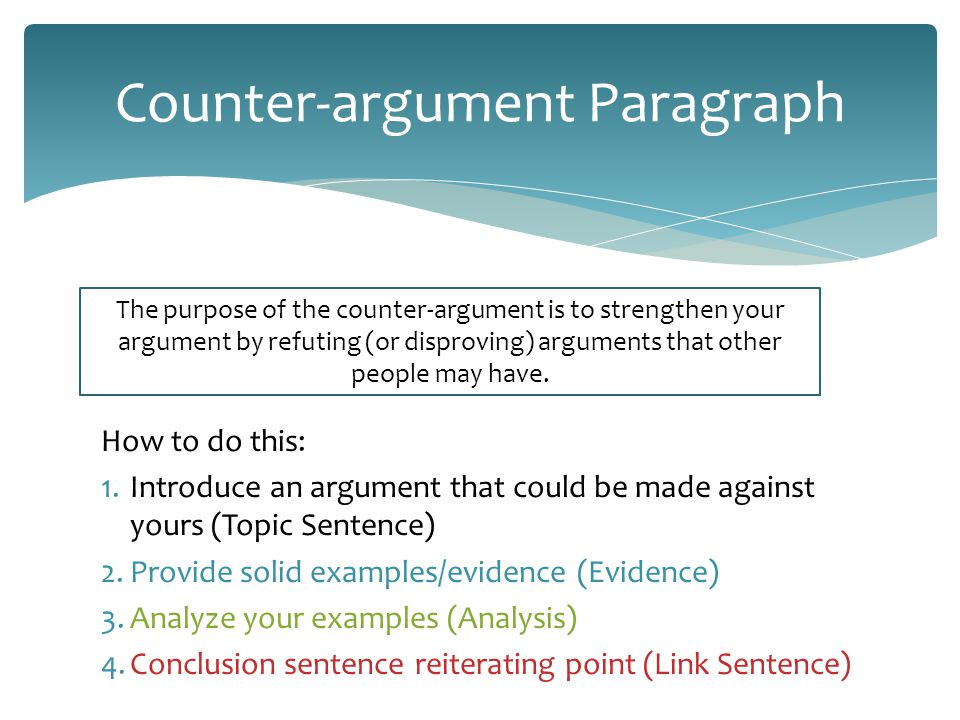 researched argument topics