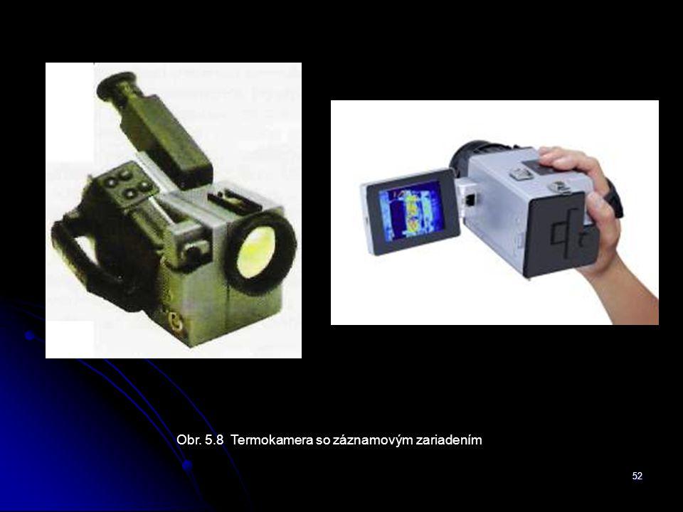 Obr. 5.8 Termokamera so záznamovým zariadením