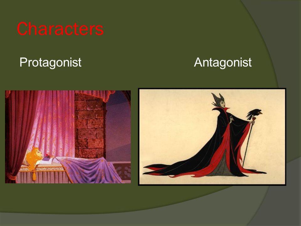 Characters Protagonist Antagonist