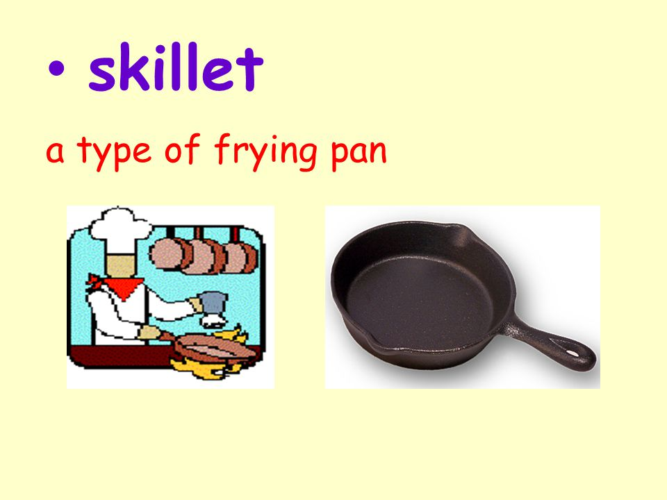 skillet a type of frying pan