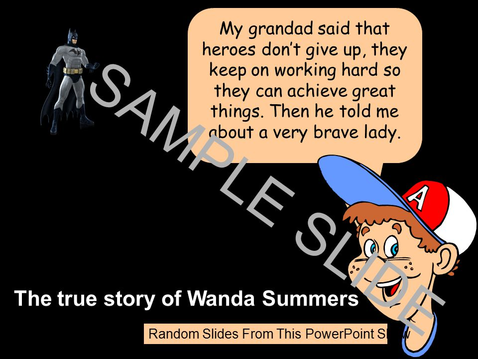 The true story of Wanda Summers