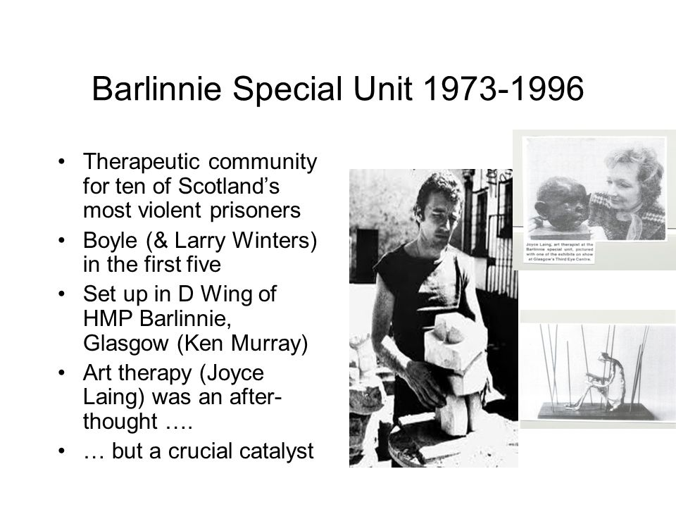 Barlinnie Special Unit 1973-1996