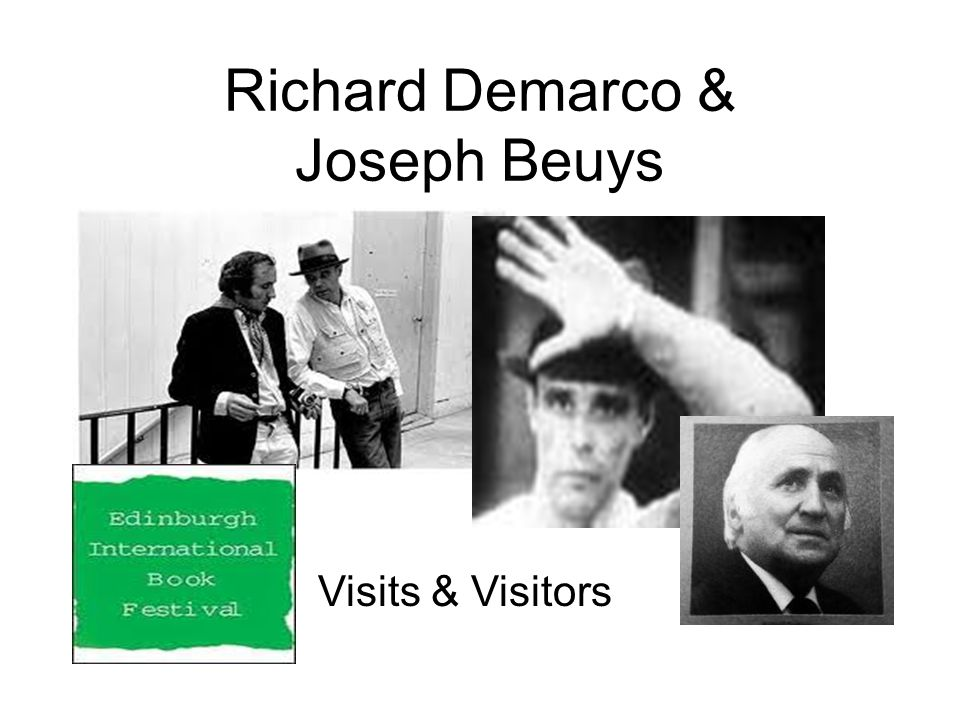 Richard Demarco & Joseph Beuys