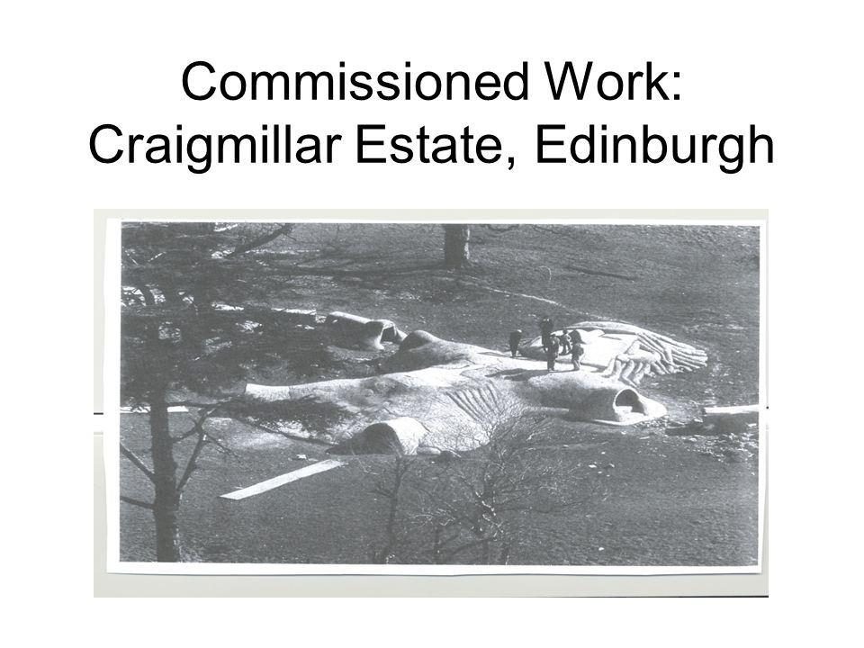Commissioned Work: Craigmillar Estate, Edinburgh