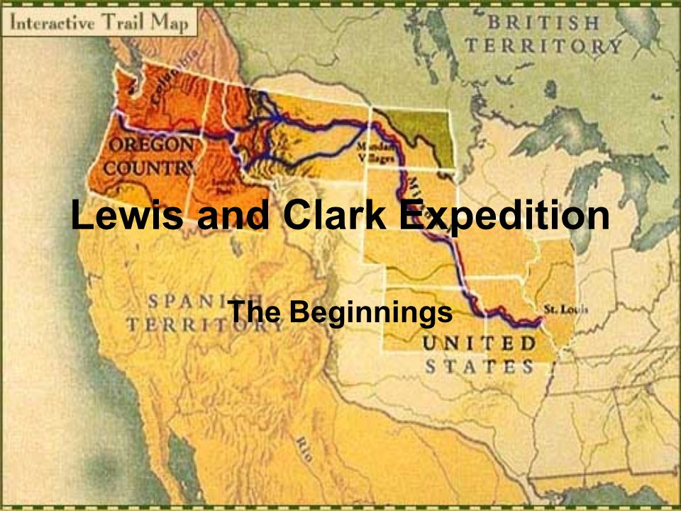 the lewis and clark expedition The lewis and clark expedition was the first of many government surveys of natural resources in the american west the us geological survey (usgs) was established on march 3, 1879 in response to a report from the national academy of sciences, which had been asked by the congress in 1878 to provide a plan for surveying and mapping the.