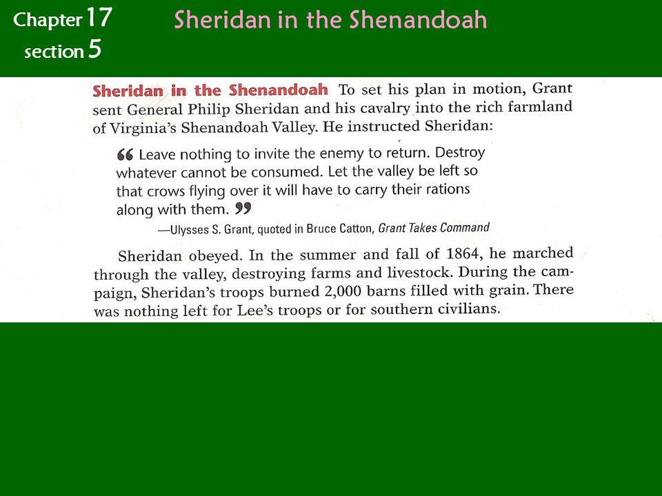 Sheridan in the Shenandoah
