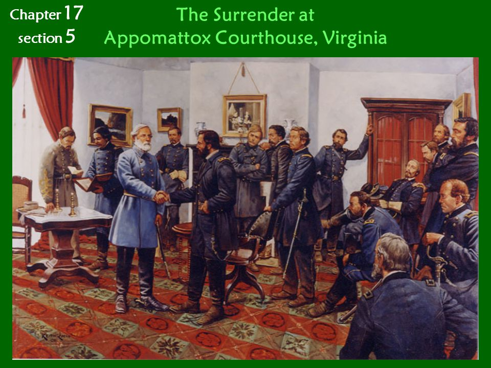 Appomattox Courthouse, Virginia