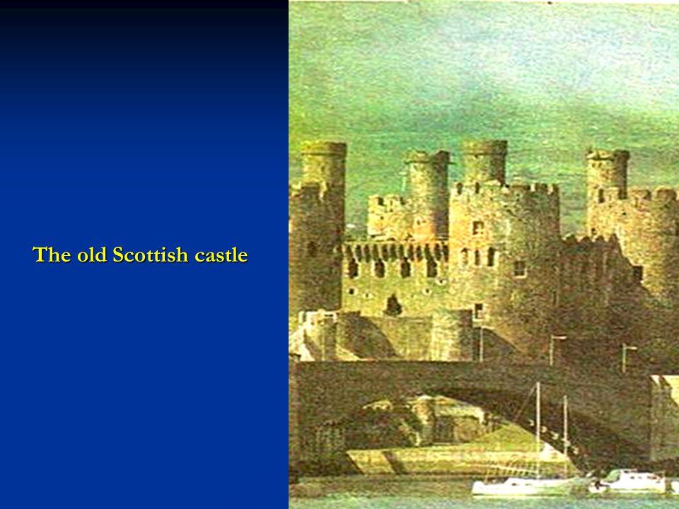 The old Scottish castle