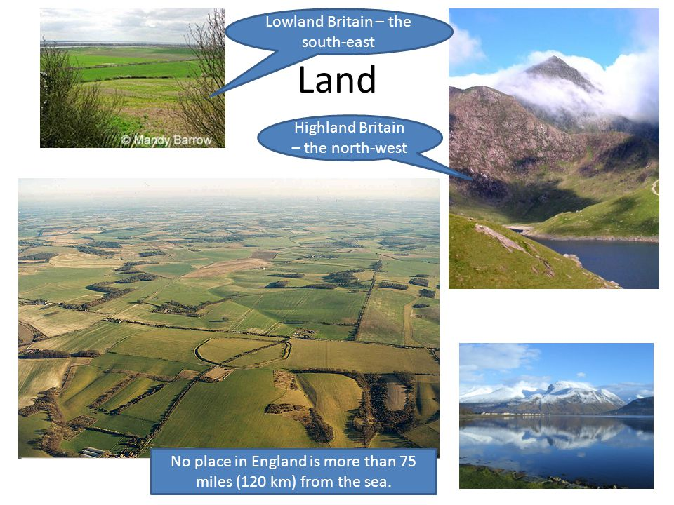 Land Lowland Britain – the south-east