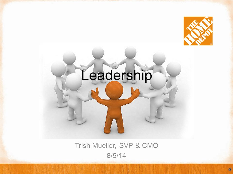 I never imagined I would be CMO at The Home Depot