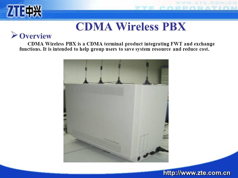 CDMA Wireless PBX Overview Size:96lines:488mm(L)*188mm(W)*400mm(H)