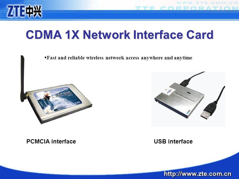 CDMA 1X Network Interface Card