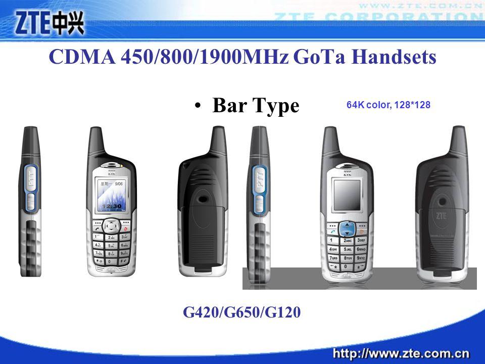 CDMA 450/800/1900MHz GoTa Handsets