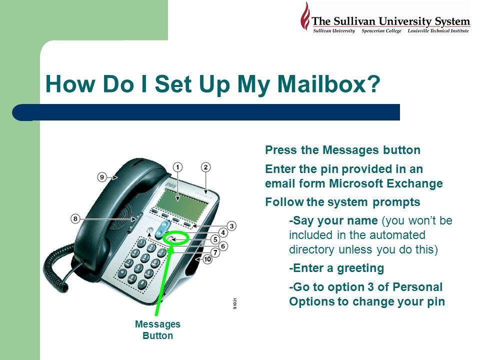 How Do I Set Up My Mailbox