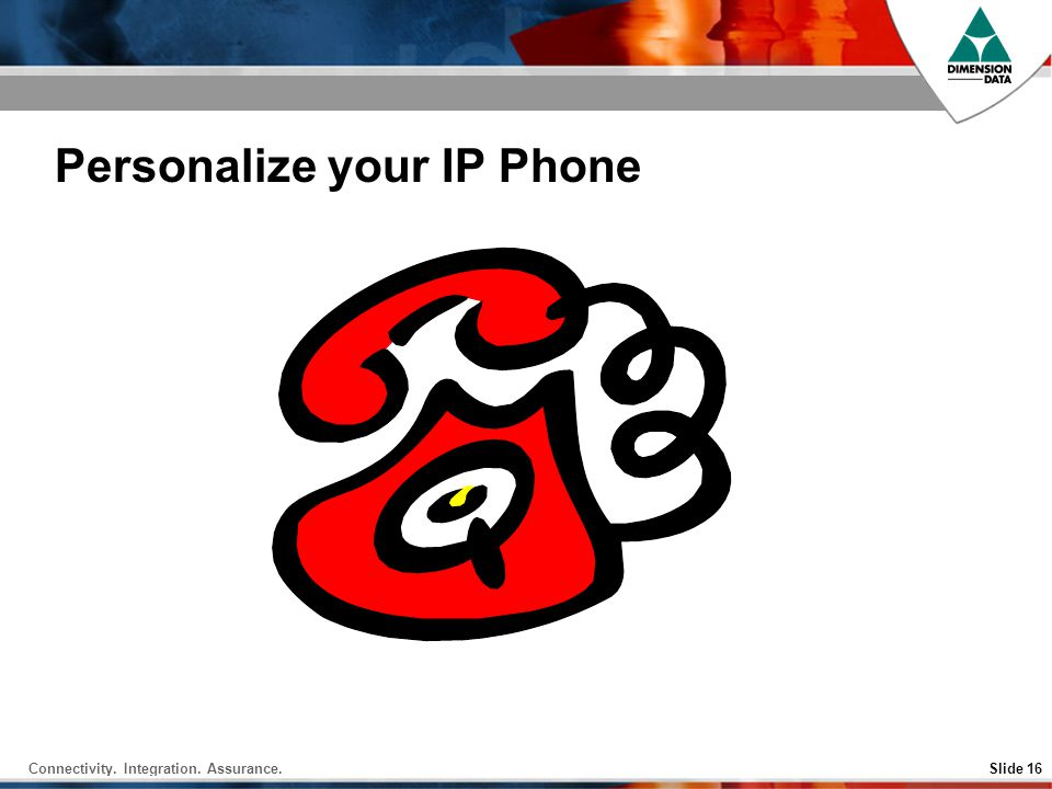 Personalize your IP Phone