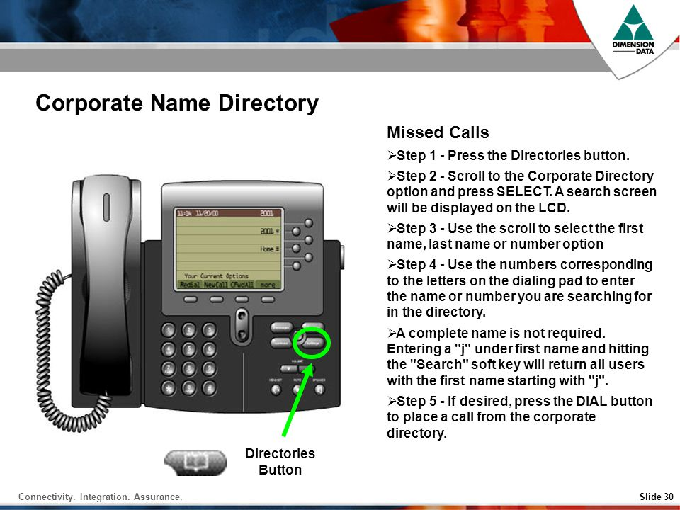 Corporate Name Directory