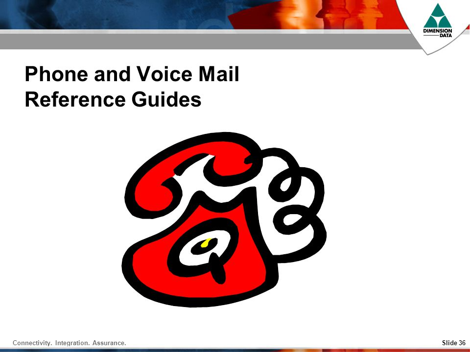 Phone and Voice Mail Reference Guides