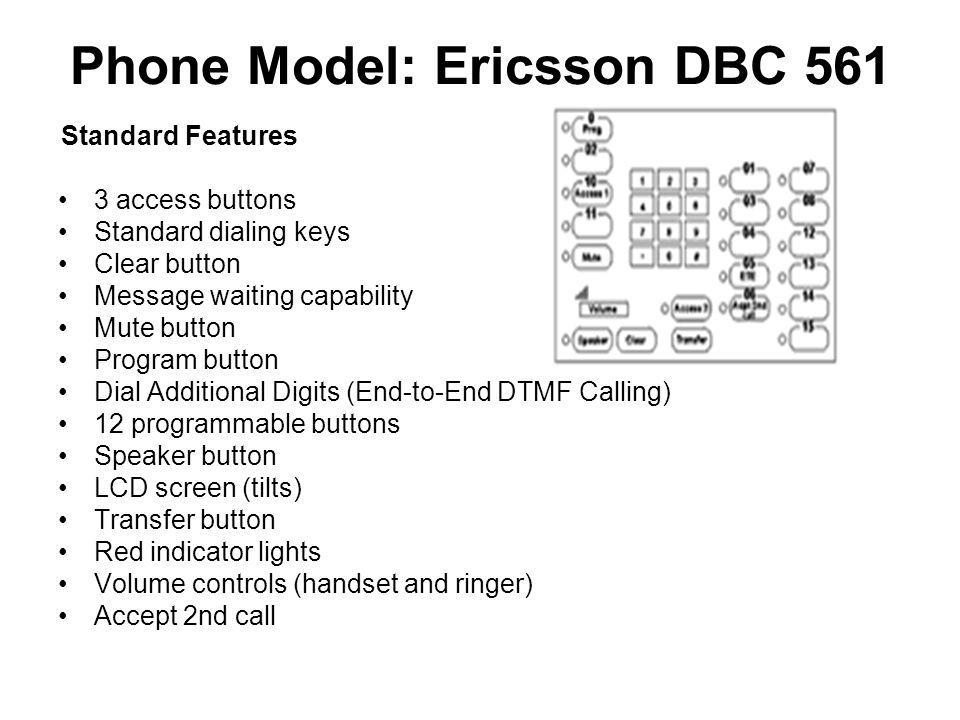 Phone Model: Ericsson DBC 561
