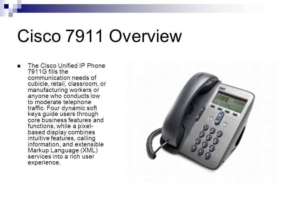 Cisco 7911 Overview