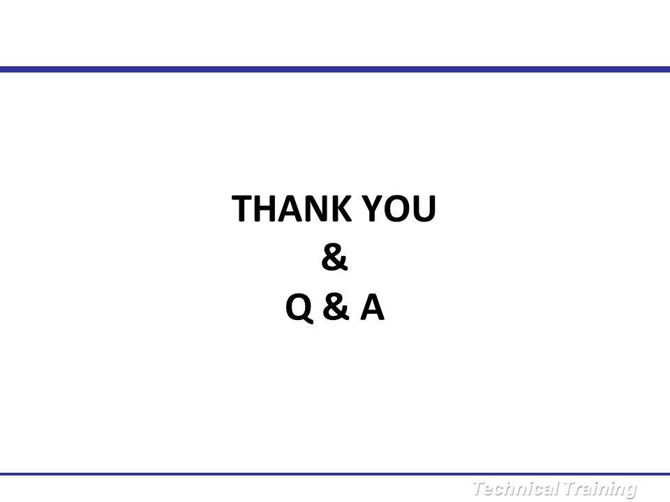 THANK YOU & Q & A