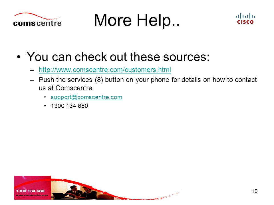 More Help.. You can check out these sources:
