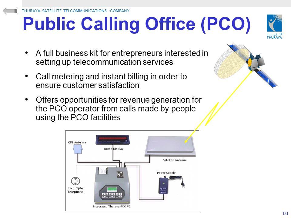 Public Calling Office (PCO)