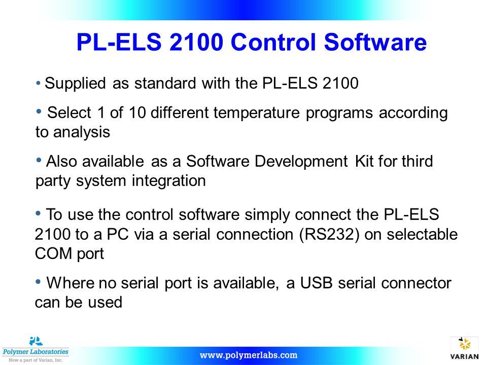 PL-ELS 2100 Control Software