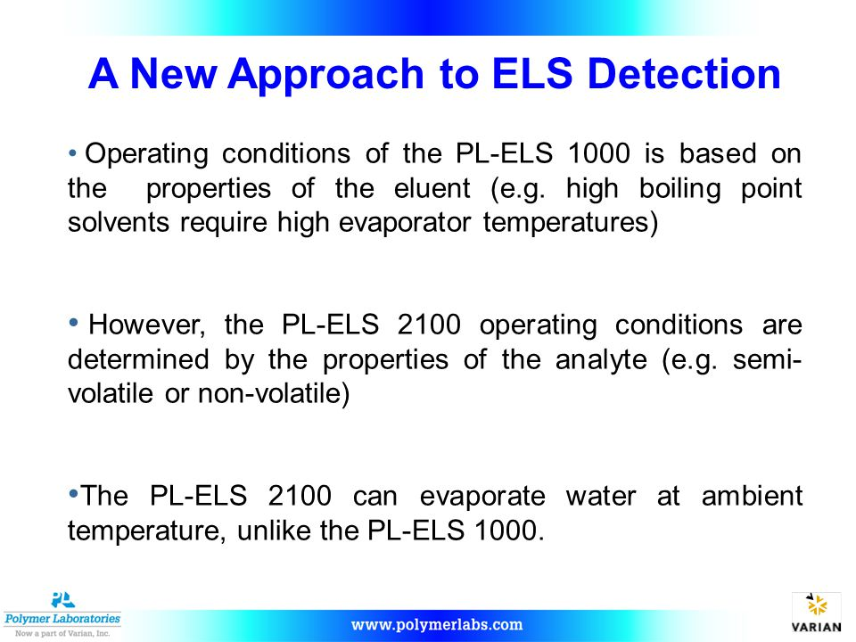 A New Approach to ELS Detection
