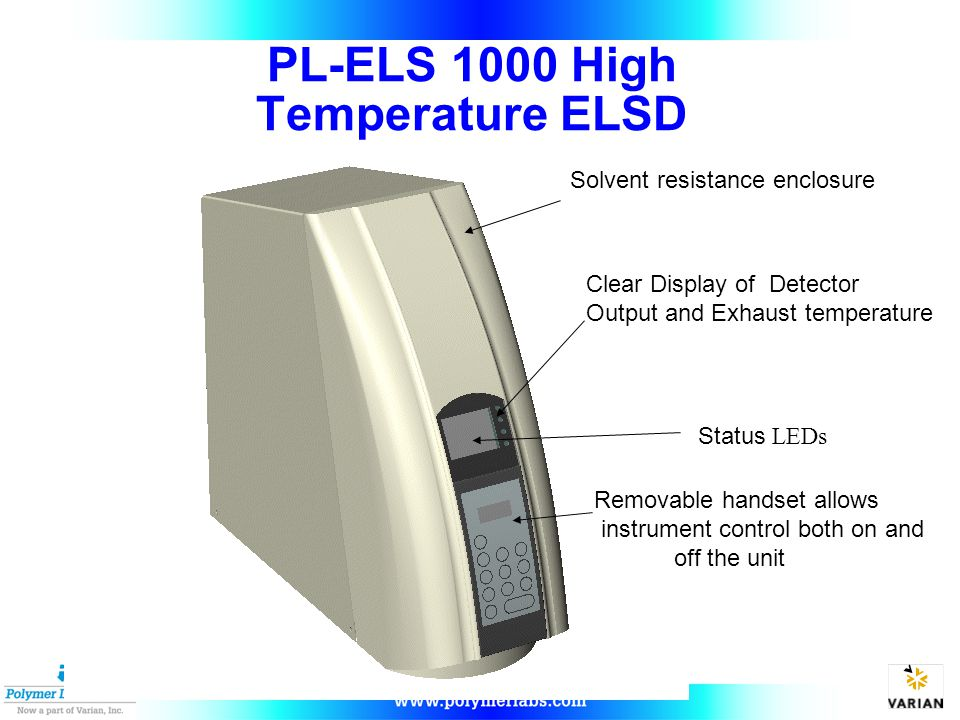 PL-ELS 1000 High Temperature ELSD